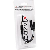 Azden i-Coustics HX-Mi TRRS Mic/Headphone Adapter for Smartphones & Tablets