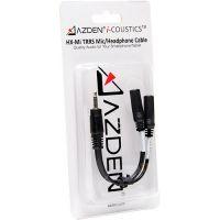 Azden i-Coustics HX-Mi TRRS Mic/Headphone Adapter for Smartphones & Tablets