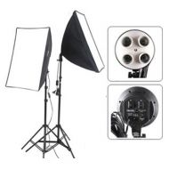 5400watts bulb set softbox set (