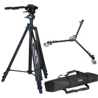 Davis & Sanford Provista Video Tripod, FM18 Fluid Head & ( free dolly for every purchase ( while stock last )