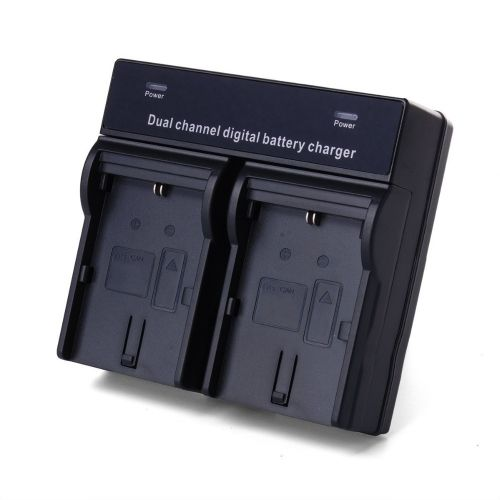 Dual Channel Battery Charger For SONY NP-F970 F960 F770 F750 F570 F550 FM50 FM500H FM55H QM91D