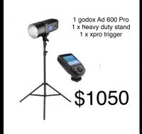 special - Godox Ad 600 pro kit 1