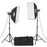 Metz Bl 400 watts Studio Kit set ( germany )