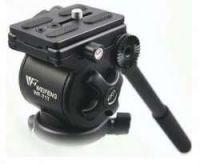Photography Video Camera Fluid Drag Tripod Head 717AH