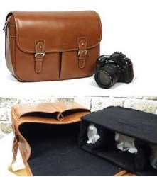 Big Brown Camera Bag