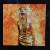 Fury Orange A5057 backdrop 3x5m