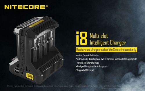 NiteCore i8 charger