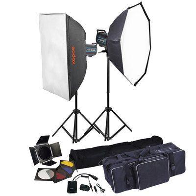 Godox QS400 ( 400 watts kit set )