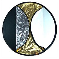 (107cm) 5-in-1 Collapsible Light Disc Reflector