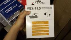 WLX-PRO VHF wireless lapel microphone system