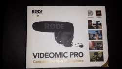 RODE MICROPHONE - Rycote New VideoMic Pro Compact Directional On-camera Microphone