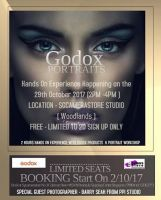 Godox Potrait ( HandsOn Experience ) 29 october 2017 - fully book