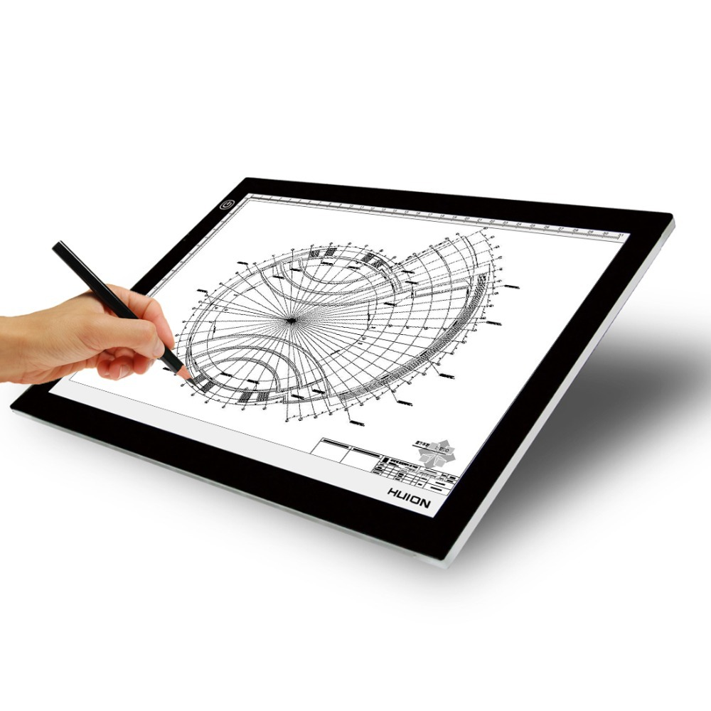 L4s Led Light Pad For Negative View Or Tracing A4 Size